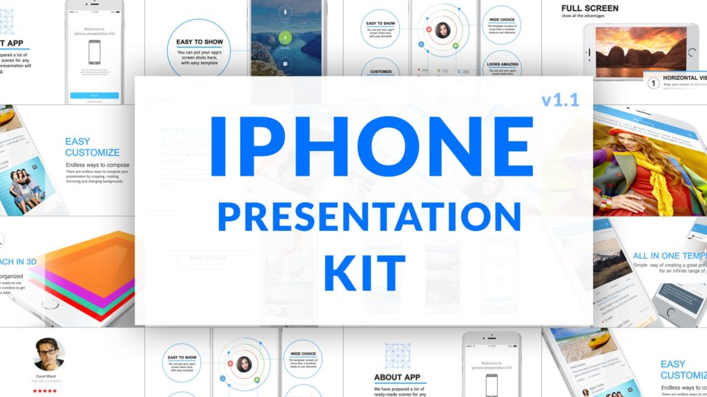 iphone presentation kit cover