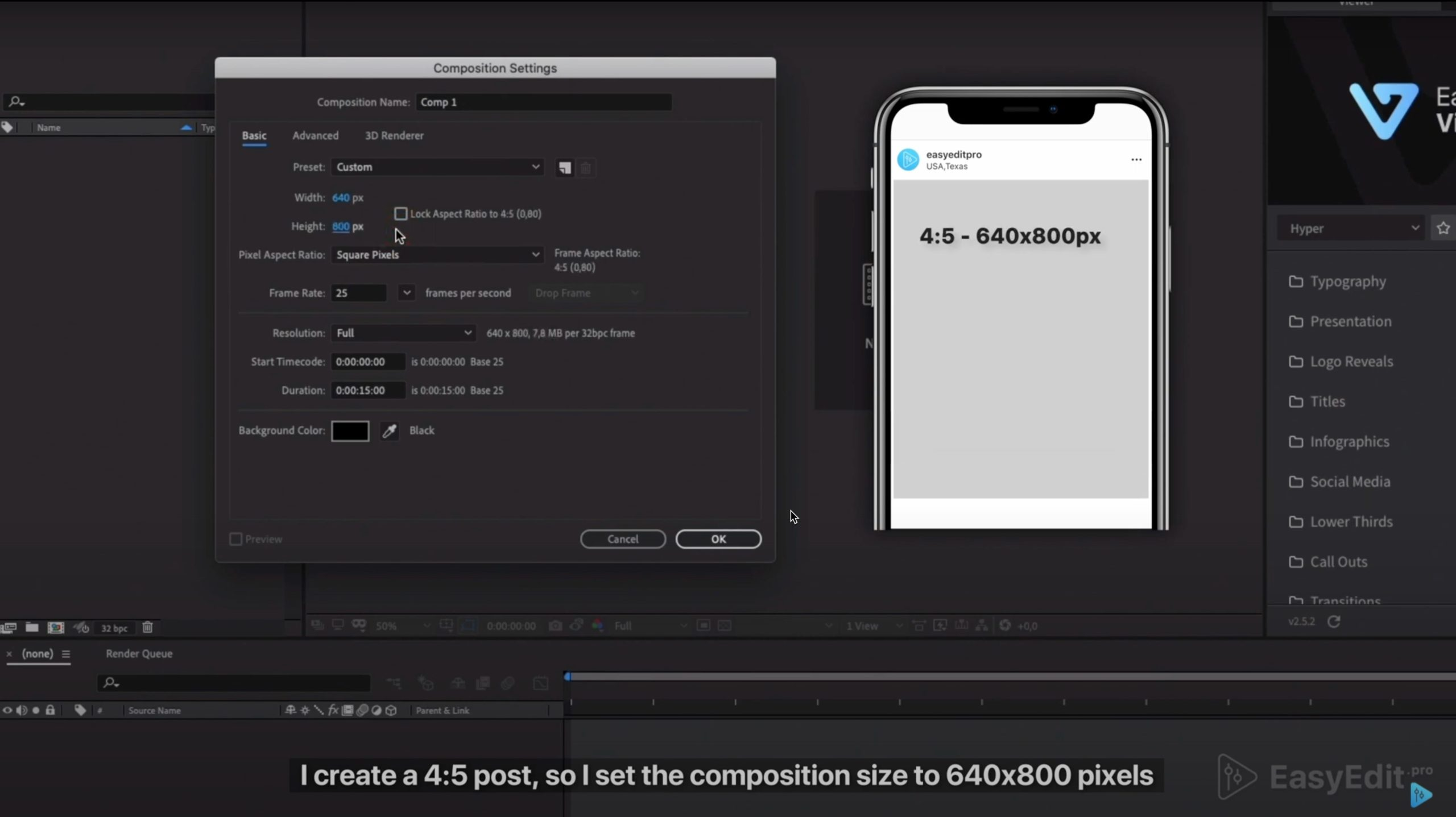 How To Export High Quality Video For Instagram Easyedit Pro