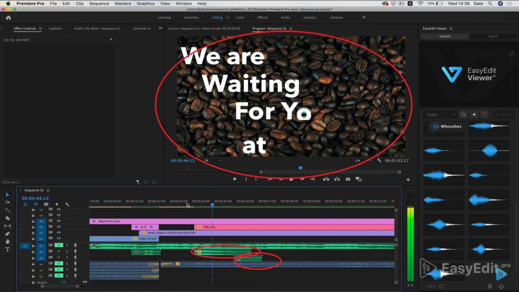 add second track in Premiere Pro