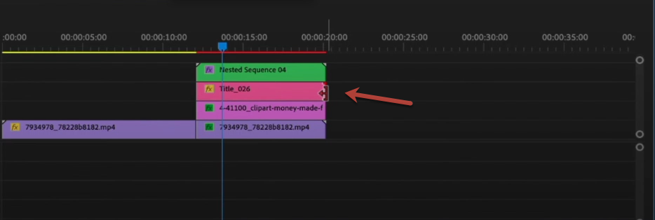 animated titles in Premiere Pro